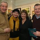 Bruce and Oksana Soper, and Karen and Garry Paterson, all of Dunedin.
