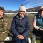 Helen Gillespie, of Oturehua, Judy Hore, of Wedderburn, and Michelle Lambert, of Queenstown. P