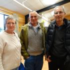 Sue and Pete Rutherford, and Ian Ball, all of Lake Hawea.