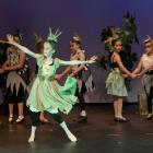 Emmelia Williams, dancing as Reed, front, with other pupils from Rangiora's Hartley School of...