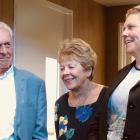 Graeme and Barb Thompson, of Wanaka, and daughter Lucy Hunt, of Christchurch.