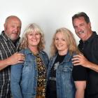 Gibbston Valley Winery Summer Concert goers (from left) Peter and Sandra Buckley and Liz and Gary...