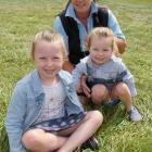 Belinda Ryalls, with her children Tyler Donaldson (5) and Bryar Donaldson (3), all of Roxburgh.