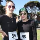 Stephanie Chalmers and Charlotte Harraway, both of Dunedin.