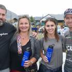 Marcos and Renata Diniz, Tami Oliveira and Rafael Patzlaf, all of Hanleys Farm.