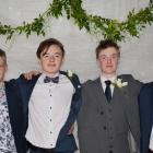 Flynn Coburn, Sam Flanagan, Ben Voice  and Hunter Burke.PHOTOS: AMIE PONT
