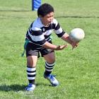 Siatua Malama (7), of Southern, gets his hands on the ball.