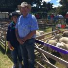 Ruth and Keith Berry, of Waipara, were pleased to win champion all breeds ewe hogget.