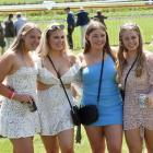Race-goers at Wingatui's Melbourne Cup Day today. Photos: Peter McIntosh