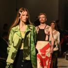 Models show off the designs of Gisella Candi, of the University of Technology Sydney.PHOTO: LINDA...