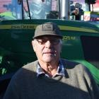 Ernie White, of Gore. Retired farm worker ... ''Purely to support the farmers. I've worked on...