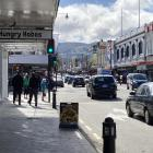 There were signs of life once again around the Dunedin CBD yesterday as the city dropped to Alert...