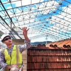 Extensive work on the roof of the Dunedin Railway Station will make sure water is kept out while...