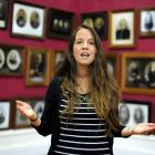 Emere Leitch-Munro rehearses Tatai in the Smith Gallery at Toitu Otago Settlers Museum. Photo by...