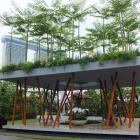 Andrew Wilson and Gavin McWilliam's garden was the overall winner at the 2014 Singapore Garden...