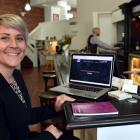 Firebrand managing director Rebecca Twemlow in the company's new Dowling St premises. Photo by...