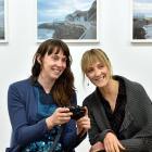 Public artist and designer Beth Ferguson (left) and Zero1 American Arts Incubator programme...