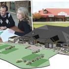 Jessie Sutherland, Jesse Sutherland, a graduate architect with Origin Consultants Ltd (left),...