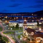 The night lights of Rotorua. PHOTO: SUPPLIED