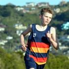 John McGlashan College year 8 pupil Grayson Westgate. Photo by Stephen Jaquiery.