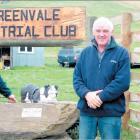 Getting recognised: Greenvale Dog Trial Club Secretary and newest life member Mervyn Gutschlag ...