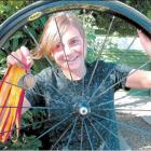 Golden girl: Alexandra cyclist Sophie Williamson (13) scored three gold medals and a silver at...