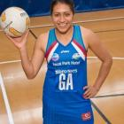 Steel shooter Julianna Naoupu pictured at Stadium Southland.  Photo by David Russell