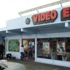 The Video Ezy store in Kaikorai Valley. Photo by Gerard O'Brien.