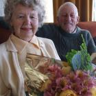 Joy and Ted Ruddenklau celebrate their 60th wedding anniversary today. Photo by Sally Rae.