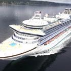 Luxury cruise ship the Sapphire Princess