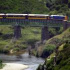 The Taieri Gorge train. Photo: ODT files.
