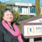 More than just a job: Nancy Lawrence has closed the book on nearly 17 years as manager of South...