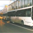 Return trip: Buses once again fill George St as commuters scramble to combat fuel price hikes and...