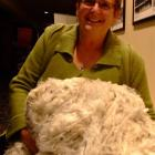 Long-time wool-classer Barbara Newton is passionate about the wool industry.