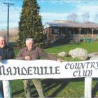Doubling the list of 'lifers': John Tremaine (left) and Les Rougham are new lifetime members of...