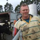 Brent McEwan at his Duntroon farm.