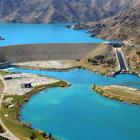 Benmore spot power prices have fallen as hydro lakes fill. Photo by Stephen Jaquiery.