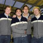 New faces in the Otago rugby squad named last night include (from left): Dan Snee, Daniel Bowden,...