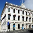 The Stavely Building, on the corner of Bond and Jetty Sts, Dunedin. Photo by Gerard O'Brien.