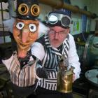 """""""SteamPunch"""", an original  steampunk puppet extravaganza featuring the adventures of hapless..."""