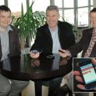 (From left) Hayden Bell, John MacDonald and Graeme Bell.