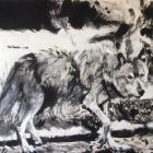 <i>Walking Wolf</i>, by Isaac Leuchs