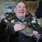 """""""It's like holding a new granddaughter"""", a delighted David Ellison said during the Haast tokoeka..."""