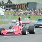 A Begg FM5 single-seater and a Mercedes Gullwing take the Highlands Motorsport Park members'...