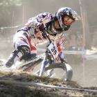 A competitor races in an  enduro mountain biking event similar to tomorrow's six-hour Ben Lomond...
