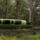 A computer-generated impression of the proposed Riverstone monorail, which would take tourists on...