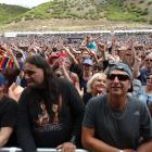 A crowd of 15,000 enjoy warm, muggy weather at the Gibbston Summer Concert on Saturday. Photos by...