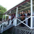 A family reunion at the former home of early Cromwell mayor Edward Murrell brought together...