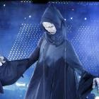 A huge puppet character from the Harry Potter saga performs during the opening ceremony of the...