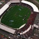 A packed house watched the final of the 1999 Super 12 rugby final between the Highlanders and...